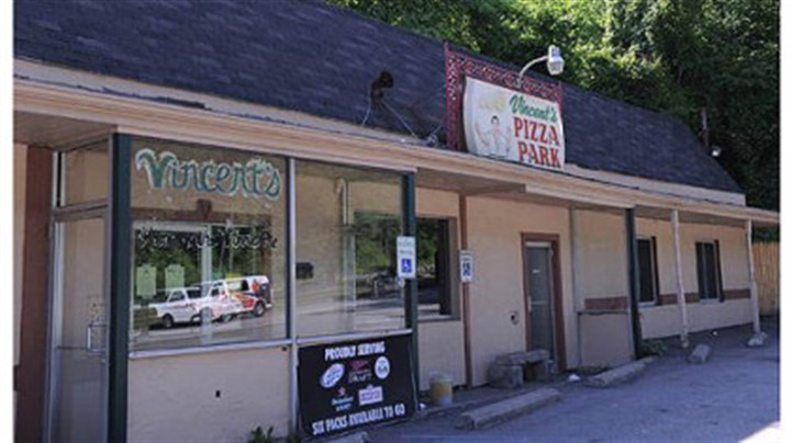 "Vincent's Pizza Park Vincent's Pizza Park in Forest Hills, home of the locally known ""Vinnie Pie."""