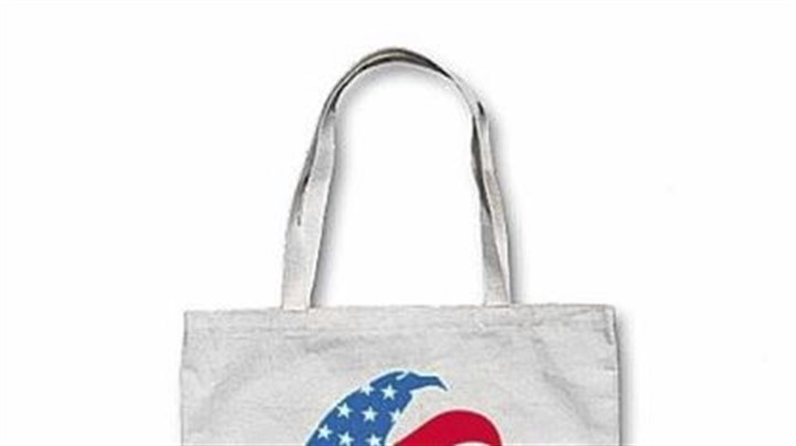 Vintage-style Romney canvas tote Vintage-style Romney canvas tote bag, $20.