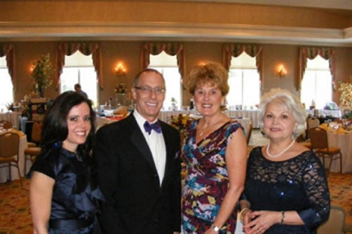 Von DeRiso, Bill Friedlander, Jan Taylor-Condo and Olive Conte Von DeRiso, Bill Friedlander, Jan Taylor-Condo and Olive Conte.