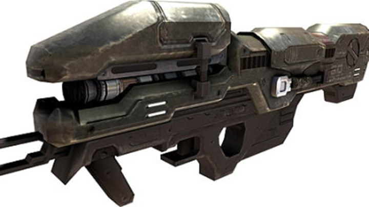 Weapon / Spartan Laser The Spartan Laser - WAV M6 GGNR is a directed energy weapon. It is one of the most powerful armaments in the UNSC arsenal.