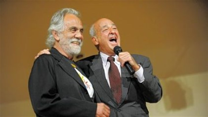 Wecht and Chong Cyril H. Wecht, right, introduces Tommy Chong of the stoner duo Cheech and Chong, at a Democratic Party fundraiser Wednesday at the International Brotherhood of Electrical Workers Local Union 5.