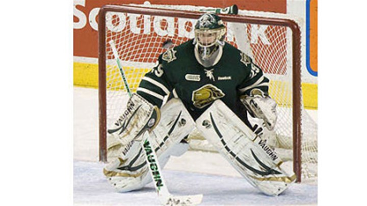 Wexford native Michael Houser London Knights goalie and Wexford native Michael Houser's journey to the draft included 16 surgeries on each foot.