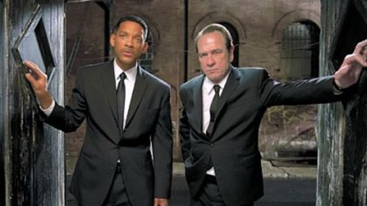 "Will Smith and Tommy Lee Jones Will Smith and Tommy Lee Jones star ""Men in Black 3."""