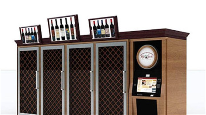 Wine kiosk A wine kiosk dispenser that has been proposed by the state Liquor Control Board.