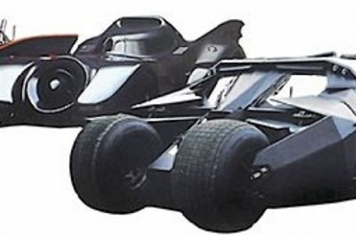 World of Wheels at Convention Center This weekend's World of Wheels will feature various versions of the Batmobile.