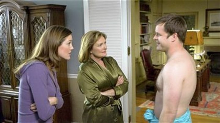 """Worst Week"" In ""Worst Week,"" girlfriend Erinn Hayes and her mother Nancy Lenehan are subjected to Kyle Bornheimer's shenanigans. The comedy premieres at 9:30 tonight on CBS."