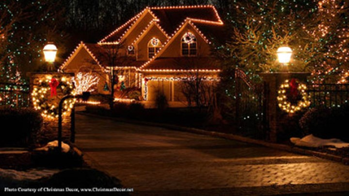Yuletide cheer Christmas Decor is a company that will install lights and other decorations at your home.