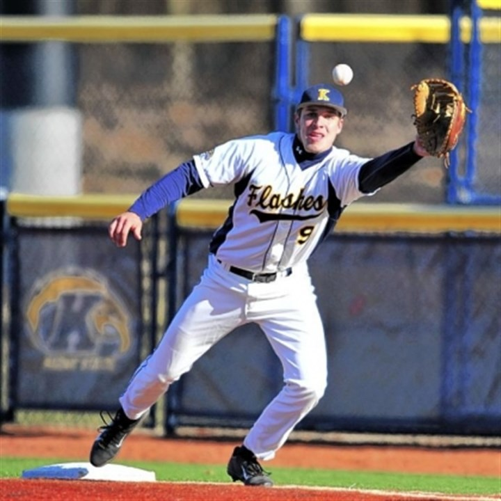 Zarley Zalewski Valley grad Zarley Zalewski has worked his way into the Kent State lineup both at first and third base.