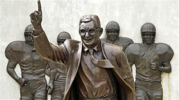 Joe Pa Statue No More Time For Coach Snyder To
