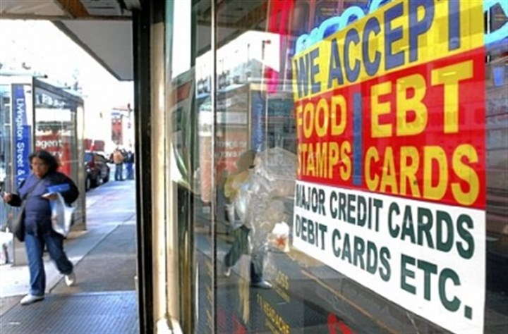 Food stamps accepted As unemployment rates continue to fall, some parts of Pennsylvania will be subject to the rule this year, though areas with more persistent high unemployment are exempt.
