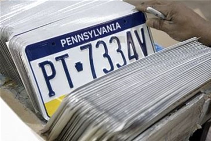 PA license plates On July 1, the one-time fee for vanity license plates will rise from the current $20 to $76, the first increase since the plates were introduced in the 1960s.