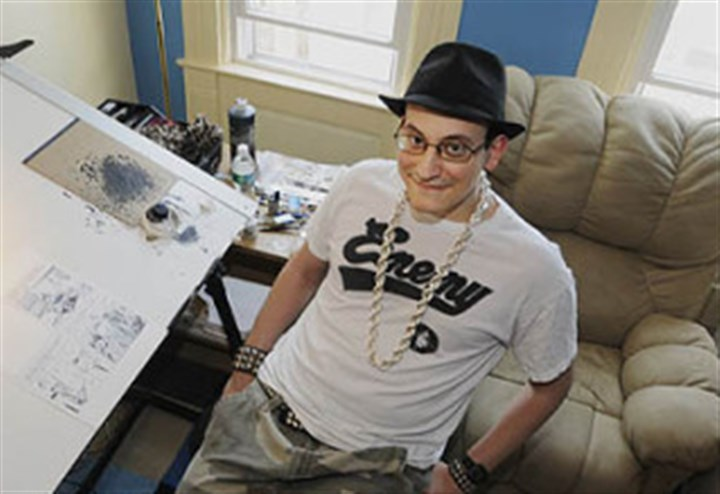 "Ed Piskor Ed Piskor, then 26, was already researching the project that would become ""Hip Hop Family Tree"" in this photo taken five years ago."