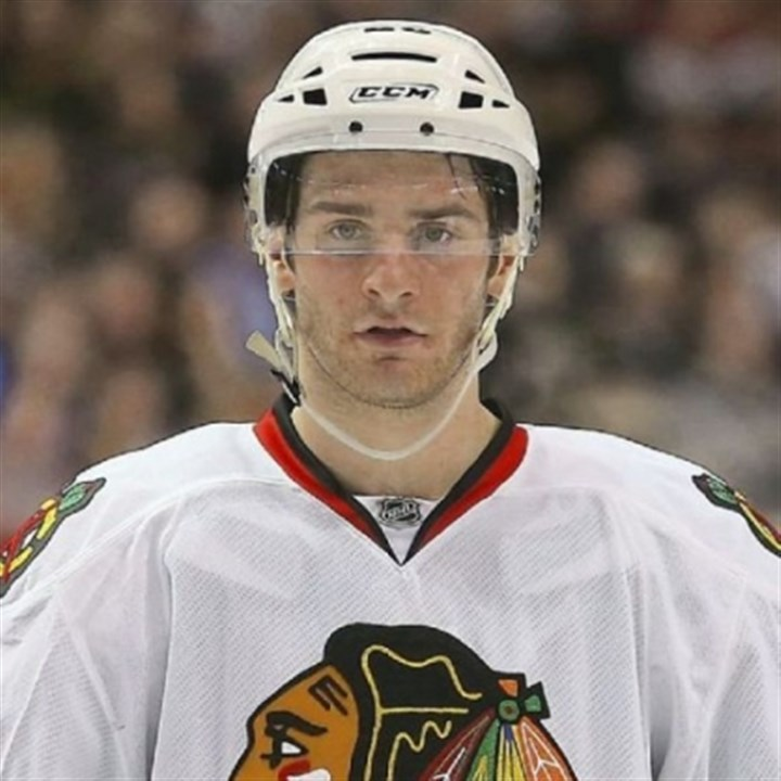 saad0330 Chicago's Brandon Saad, a Gibsonia native.