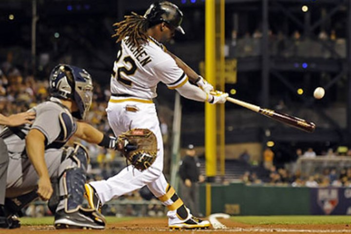McCutchen doubles Andrew McCutchen joins luminaries like Willie Stargell and Roberto Clemente in becoming only the fifth Pirates player to win the National League MVP.