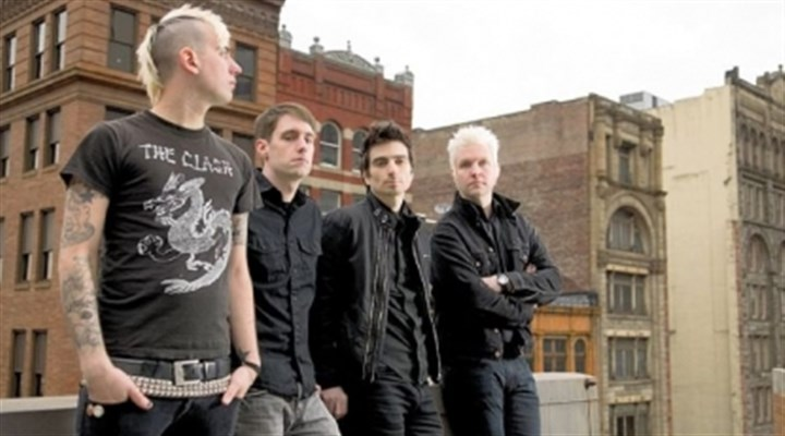 Anti-Flag Anti-Flag -- Chris #2, Chris Head, Justin Sane and Pat Thetic -- is headed back to Eastern Europe for performances.