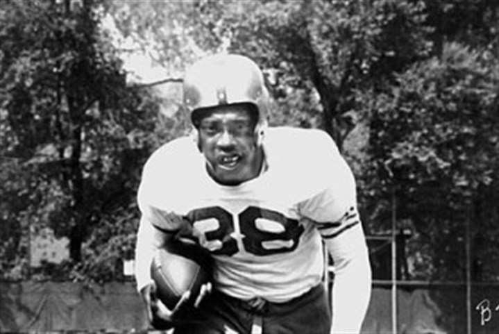 grier1103 Bobby Grier was a member of Pitt's 1956 Sugar Bowl team and the first African-American to play in the game.
