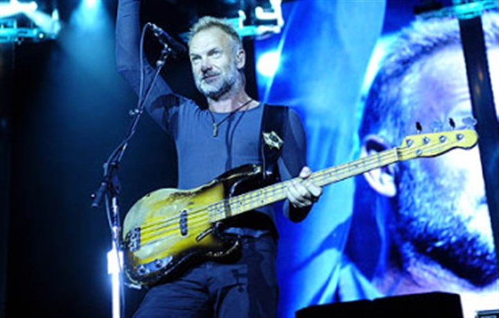 Police in Concert Sting is among the nominees for 2015 induction into The Rock and Roll Hall of Fame. Nominees also include Green Day, Nine Inch Nails, N.W.A. and The Smiths.