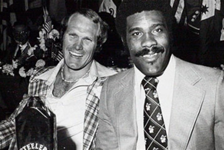 Steelers Terry Bradshaw and Joe Greene Steelers icons Terry Bradshaw, left, and Joe Greene are shown during the team's 1970s heyday.