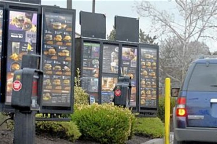 "McDonald's drive thru When a McDonald's employee told a customer the total at the drive-thru window, the customer handed her a $50 bill and said, ""Pay for as many cars as you can."""