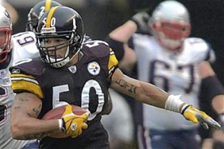 Larry Foote Former Steelers linebacker Larry Foote was cut by the team today.