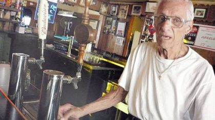 Angelo Cammarata Angelo Cammarata, 95, behind the bar at Cammarata's in West View.
