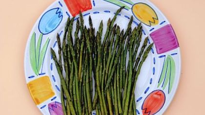"Asparagus Asparagus is the ""king of spring."""