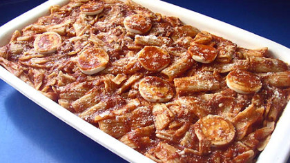 """Baked Pasta Supreme Baked Pasta Supreme from Therese V. DeCaria's cookbook, """"The Table My Mother Set."""""""