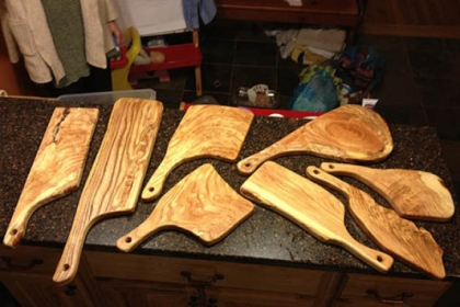 Bandy cutting boards Pittsburgh-made cutting boards by Chris Bandy.