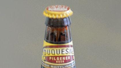 Bottle of Duquesne Pilsener