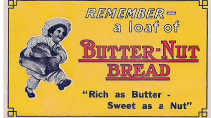 "Butter-Nut image Butter-Nut image from ""Culinary Ephemera"""