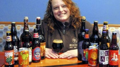 buy local! Chris Dilla, owner of Bocktown Beer and Grill, offers a variety of regional beers along with locally sourced ingredients on the menu.