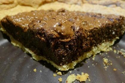 Chocolate and Hazelnut Tart Chocolate and Hazelnut Tart.