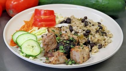 Conflict Kitchen's Lechon Asado Food to be served at the second Pop Up Pittsburgh: Night Market includes Conflict Kitchen's Lechon Asado, a Cuban roast pork in mojo marinade.