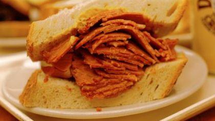 Corned beef sandwich Corned beef sandwich at Shapiro's in Carmel, Ind.