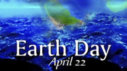 Earth Day poster from NOAA