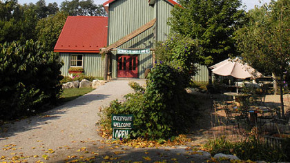 Greendance Winery Greendance Winery provides an idyllic setting for an afternoon.