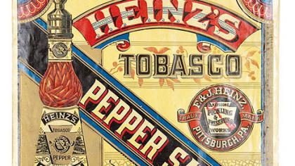 """Heinz image Heinz Image from """"Culinary Ephemera,"""" by William Woys"""