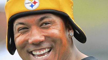 Hines Ward Hines Ward. You know what team he's with.