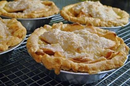 Inaugural Apple Pie Inaugural Apple Pie.