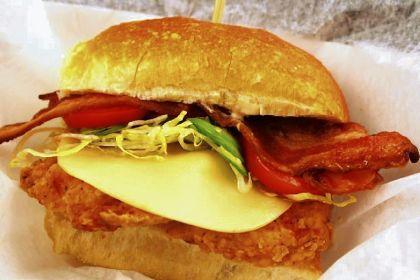 Jalapeno Chicken Sandwich Heinz Field's new Jalapeno Chicken Sandwich.