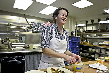 Jamilka Borges Jamilka Borges, former sous chef at Legume, has moved to Bar Marco in the Strip District.
