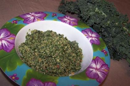 Kale Pesto Kale Pesto.