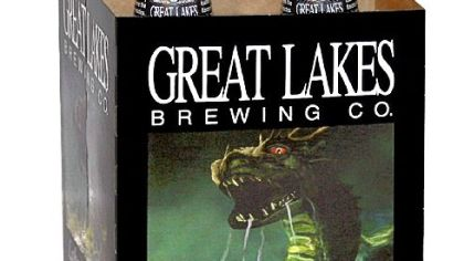 Lake Erie Monster beer Lake Erie Monster from Great Lakes Brewing Co. in Cleveland.