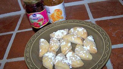 Orange Marmalade and Raspberry Jam Pochette Cookies Orange Marmalade and Raspberry Jam Pochette Cookies.