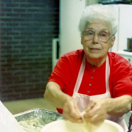 Philomena Miele Vicker Rosemarie Perla's late Nana, Philomena Miele Vicker.