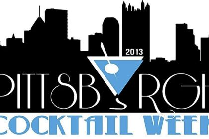 Pittsburgh Cocktail Week The logo for Pittsburgh Cocktail Week.
