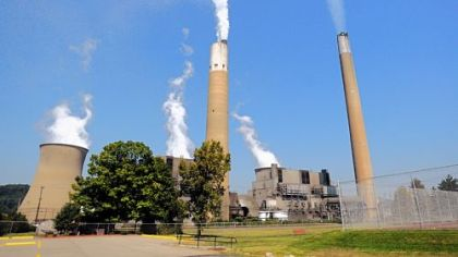 Powerplant FirstEnergy's Bruce Mansfield coal-fired power plant in Beaver County failed to clear PJM's annual capacity auction. The company has since postponed upgrades to the facility, which could jeopardize its functioning beyond 2016.