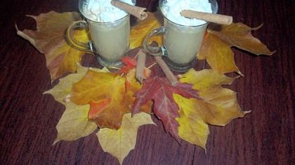 Pumpkin Lattes Pumpkin Lattes made in a slow cooker.