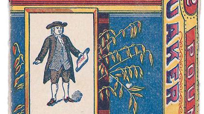 """Quaker Brand Image Quaker Brand Image from """"Culinary Ephemera,"""""""