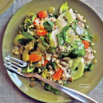 Quinoa Parsley Salad Quinoa Parsley Salad.
